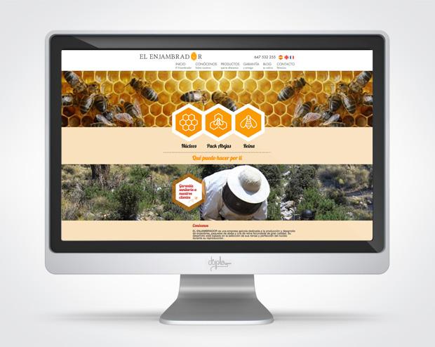 Diseño web microsite