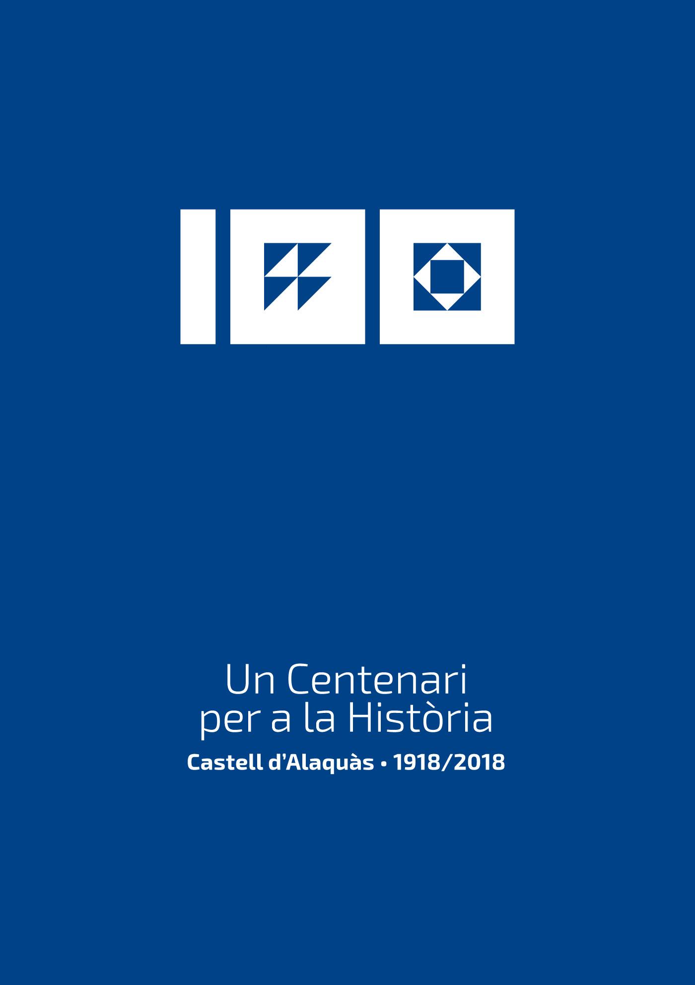 Centenario Castillo de alaquas color azul decoracion azulejos