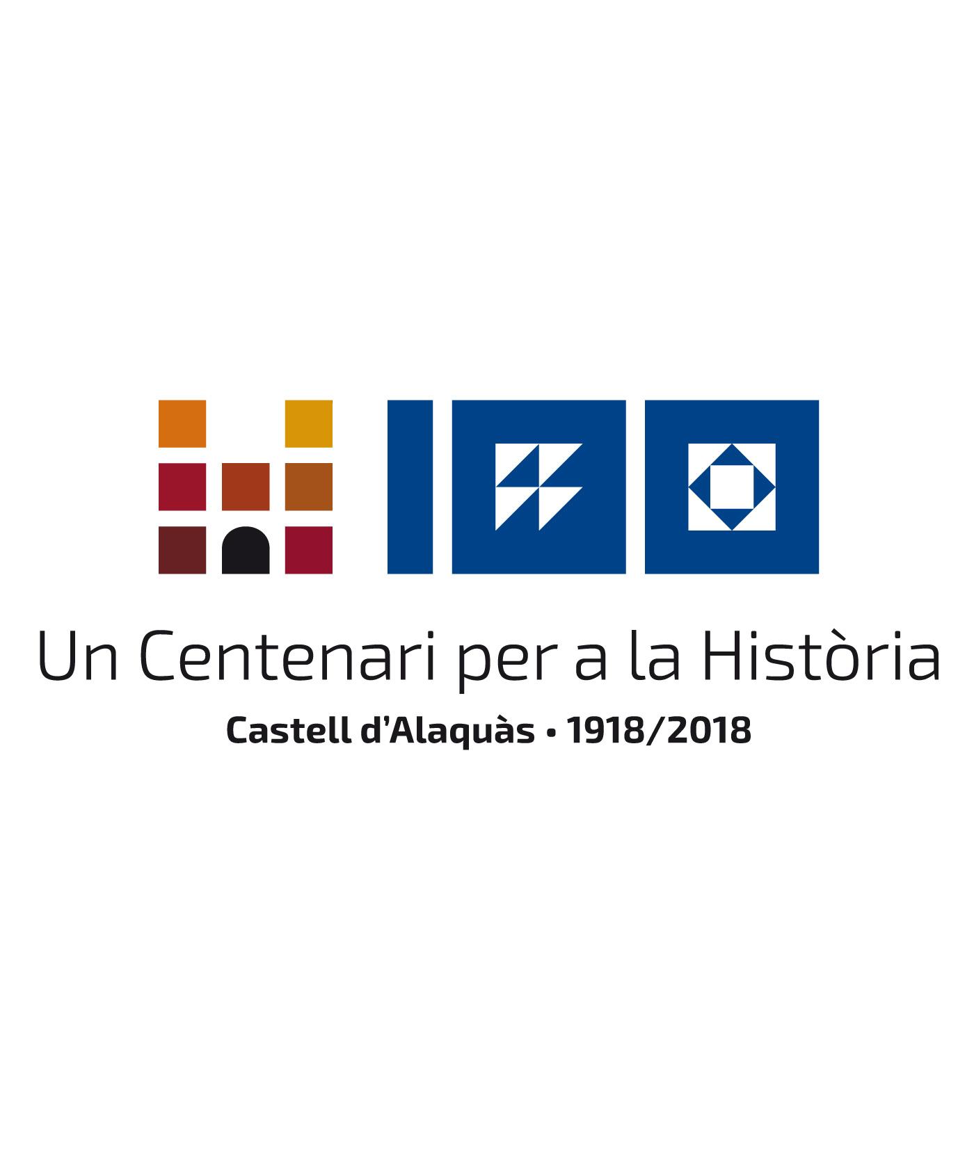 Marca 100 aniversario castillo alaquas