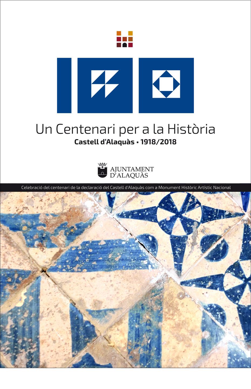 cartel 100 aniversario castillo alaquas centenario