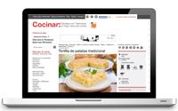 Diseño blog y posicionamiento web recetas