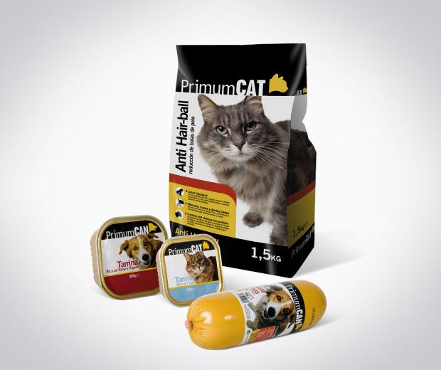 Primum consum comida mascotas