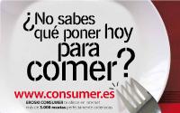 Diseño Cartel Cartelería Consumer Supermercados Consum Eroski | DUPLO Comunicación Gráfica | Estudio de diseño gráfico, web y editorial.
