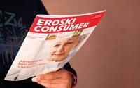 Diseño Revista Consumer Eroski Supermercados | DUPLO Comunicación Gráfica | Estudio de diseño gráfico, web y editorial.
