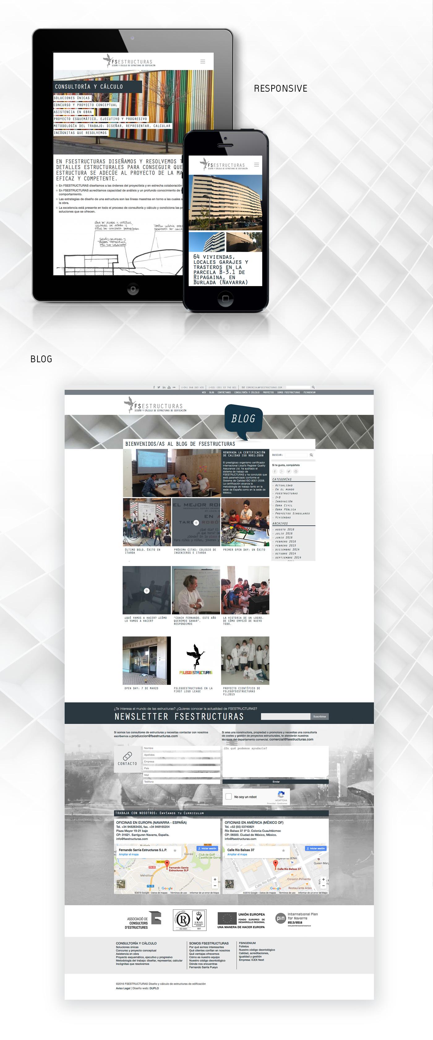 Diseño web responsive y posicionamiento